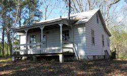 two beds cabin with bath, long river front on two sides of property. Old tobacco barn. Great hunting with lots of privacy. A rare find for the price.Listing originally posted at http