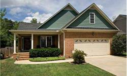 MINT GEM!! Sharp, sophisticated brick ranch offers backyard privacy short walk to Historic Downtown Mebane. Vaulted greatroom opens to kitchen with granite counters, dining with hardwoods & trey ceiling. Whirlpool tub. Bonus room potential in spacious,