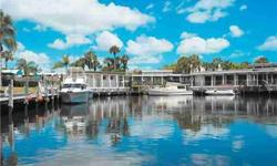 Great 2/2 waterfront condo with wonderful water/marina views in a beautiful riverfront boating community with dockage available for $1.50/ft per month & Ocean Access! Being sold furnished and turn-key. Walk, bike or cruise to shopping, restaurants and