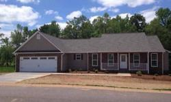 New Construction built by local builder. Not a tract builder. Builder has 250 homes in District 2. Excellent reputation! You can call him anytime with questions!Better Homes and Gardens Real Estate is showing this 3 bedrooms property in Inman. Call (864)