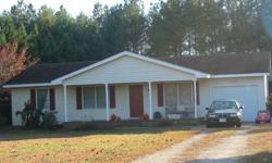 Country Living in this Great Starter Home in sought after Racefield~ A total of 1040 sf with 3 bedrooms and 2 baths! Upgraded plumbing and lighting fixtures, New HVAC, Water Heater and Flooring! Spacious Lot over half and acre! Best price in Neighborhood!