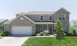 Stunning move-in ready Fishers home! Spacious 2610 sqfeet w/ 3 beds + office + large bonus room area prewired for surround sound. Open floorplan flows nicely from the kitchen & breakfast rm to the family rm, formal dining & 2 story entry. Gorgeous
