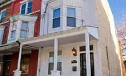 Excellent value! Great location across from park! Large, completely renovated 3 years ago, 4 bed/2.5 Bath home in South Phila w/sitting room, roof flat & porch front. Also features beautifully ref. wood floors t/o, high ceilings, crown & chair rail