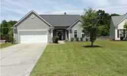 Beautiful Home in Bridges of Summerville. 3 bedrooms/ 2 full baths. Master bath has tub and separate walk in shower w/ marble seat. Open floor plan. Family room with high ceilings has fireplace and french doors that open to back screen porch. Kitchen with