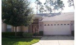 SHORT SALE Like New Villa with a Super Open and Bright Open Floor Plan Features Include: Pavers at Entry; Tile in Entrance to Living/Dining Room or Great Room; Florida Room; Kitchen with White Cabinets and Closet Pantry; Breakfast Nook w/Bay Windows;