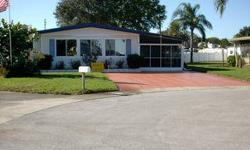 UP-DATED THRU-OUT AND READY FOR YOU TO VACATION ALL YEAR. 2BR-2BA IN LAKE TARPON VILLAGE. HOT TUB IN 1 OF TWO SCREEN ROOMS. BEAUTIFUL VIEW OF LAKE TARPON. LOW MAINT. ($82 MO.) CLUBHOUSE W/ HEATED POOL. ACTIVE 55+Listing originally posted at http