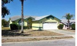 """""""Short Sale; approval of the seller's lenders(s) may be conditioned upon the gross commission being reduced. 3/2 Move-in ready condition with in-ground pool with screen enclosure. Spacious kitchen and cathedral ceilings. Wood and ceramic flooring."""