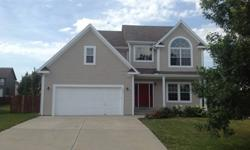 Three bedroom, two and a half bath home in Gardner.