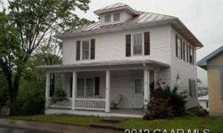 This classic 2 story features 4 bed 2 bath in a great location for student housing. Possible 5th bedroom, hardwood floors throughout, central air, and many updates. Full unfinished basement with lots of storage. Price includes extra buildable lot next