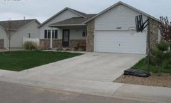 This is a great home in a quit neighborhood. All appliances including the washer and dryer. Full bath with a Master suite. Great yard, backyard fenced with vinyl fencing. Large Trex deck off the eat-in kitchen, sprinkler system. Buyer to verify all