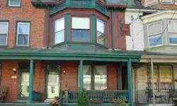 Victorian decor magnified in every detail. Exquisitely painted trim & ceilings. Private landscaped rear yard with large back patio and brick walkway to 2 off-street parking spaces. Central a/c. 2 second floor baths. 2nd floor laundry in main bath. Granite