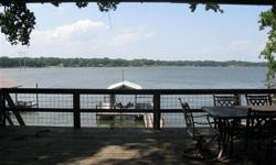 MOTIVATED SELLERS!!! Bring an offer!!! Waterfront property located on deep, calm waters on the west side of Cedar Creek. Easy commute for weekenders or full time lake house. New boat lift and great view from the huge deck. Great cabin feel property with