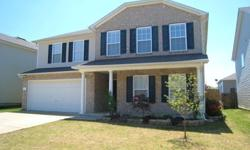 4 Bedrooms and 3 Full Baths with over 3000 sq ft, this popular floorplan has many upgrades. Stainless appliances and Cherry Stained Cabinets in the huge kitchen. Ceramic tile & harwood floors on the main level. Guest suite down with Full Bath. Owner's