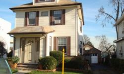 Spacious Colonial features living room, dining room, eat-in-kitchen, 3 bedrooms, porch, finished basement and 2 car garage. Close to schools and transportation to NYC. Short sale - sale is contingent short sale approval.