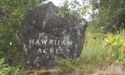 3 acre Lot in Hawaiian Acres, HI 96760 in the lower part of subdivision6th road