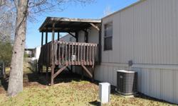 2001 3br/2ba 16x80 mobile home for sale in Stonegate Mobile Home Community off of Wire Rd right across from the vet school. Price is negotiable. Email or call 334-657-1683 for more information/pictures or if you would like to come see it in person.