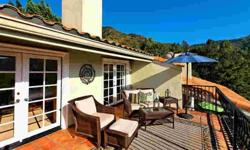 Move-in ready monte nido home. Well appointed four beds home with spectacular views of the santa monica mountains from every room. Brian Merrick is showing 734 Wonder View in CALABASAS which has 4 bedrooms / 3 bathroom and is available for $1149000.00.