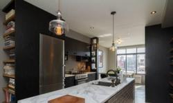 This Williamsburg 1,206 sqft 2 bedroom, 2 bathroom Penthouse condo plus 195 sqft private terrace is in an exciting boutique development. This gut renovated unit features radiant heated cement floors, sliding rustic wood doors, open island kitchen, custom