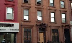 "495 Franklin Ave Located on Franklin Avenue off Hancock next to the Franklin station of the ""C"" & ""S"" Subway, 2 blocks to the Nostrand ""A"" line. Legal 2 family 3 story, Double Duplex!! Brownstone with additional full size finished cellar. The building is"