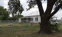This ranch sits on 1228 fenced acres and consist of 2 Homes each on a 40 acre tract, and each home has it own set of corrals horse barn and stalls, with tack room. Both houses have 3 Bedroom 1 bath, Central Heat and Air. Both homes are located in a nice