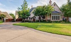 French Country Estate nestled into heavily wooded homesite in seculded culdesac in Timarron. Expect to be impressed with the rich hardwood floors and stains, knotty alder wainscotting, fabulous custom mouldings and finishes coveted by discriminating