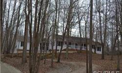Amazing and well maintained single owner ranch style home with pure privacy on over two acres.