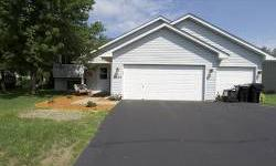 """Immaculate split entry home with garage for 3 cars. 4 Beds, two Bathrooms, newer flooring, roof. Cathedral ceilings. Massive kitchen!View listings right on your cell phone! Send text """"JAJ"""" to 763-280-5211Jeff A Johnson is showing 13433 Killdeer St in"""