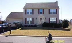 Lovely 4 bed. 2 1/2 ba. Colonial with full basement. Large island kitchen opens to deck-fenced yard. Adjoining family room with fireplace. Huge master suite. Priced to sell @219,000.00Call Debbie @ Exit Gold Realty 410-643-4111 443-496-1252