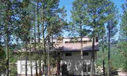 FABULOUS SIERRA BLANCA VIEWS - TREE TOP DECKS - SPACIOUS CONDOMINIUM - FULLY FURNISHED & UPDATED INCLUDING 2 FIREPLACES, POOL TABLE, PAVED ACCESSIILITY - GREAT RENTAL POSSIBILITIES - GAME ROOM - SWIMMING POOL. FEES INCLUDE WATER - SEWER- MAINTENANCE -