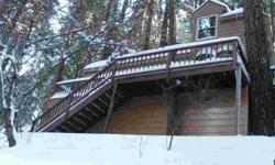Secluded mountain cabin in beautiful Lake Arrowhead, California. Lots of amenities