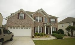 This 4 bedroom, 2 ½ bath home with brick facade is conveniently located in Heritage Creek subdivision in Simpsonville.The main level includes a large open floor plan family room and kitchen. The family room has a fireplace with gas logs and is wired for