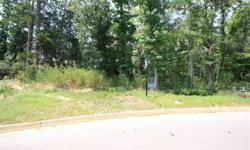 Great wooded cul-de-sac lot backing up to the lake in Oak Hollow. Beautiful views and a quiet walking trail that borders the lake.Listing originally posted at http