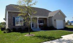 Why wait for new construction, this nearly new single level 3BD/2BA home has an open floor plan, master bedroom & bath and also features a sunroom and single car garage. Community has great amenities & is just a short drive to Bethany's Beaches and