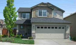 Quality two story home, 3 bedrooms, 2.5 bathrooms, Fireplace & 2 car garage. 2x6 double wall construction, gas forced air, stainless appliances, tile counters, gas fireplace, very nice good size rear yard, durable fiber cement siding with 25-yr warranty