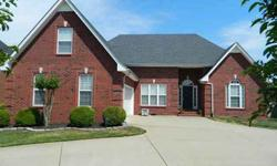 Built in 2003, 75 x 125 Lot, One Story Home w/Rec. Room over Garage, 2,633 square feet, 3 bedrooms, 2 full baths, Split Bedroom Design, Walk-in closets and storage areas, 2 car garage (Courtyard style), Circular Drive, All Brick Home, Inviting and Warm