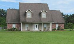Looking for a home, for the family, that has amazing space, privacy, and value? This home has all of that and much more! Four bedrooms, three baths, office, library, game room, and media room to add to the list of amenities, which sits on three acres down