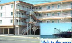 One block to the beach, walk to the boardwalk from this lovingly cared for condo, north end of Seaside Heights. End unit offers privacy, tons of sun through mostly all new windows & the condo has CAC! 2 BRs with good closet space. Upgraded BA has