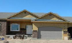 Stunning New Rambler! 2x6 walls. Low-E-Windows. Extra insulation. Granite counter tops and under mount sinks in the kitchen & baths. Staggered knotty alder cabinetry. Brushed bronze faucets & fixtures. Tray & vaulted ceilings. Covered front porch with