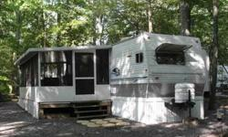 40 ft 2006 Nomad Platinum Edition, Model 3800 For Sale in Lake Laurie Campground Cape May, NJ Includes