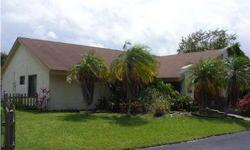 SPACIOUS POOL HOME ON OVERSIZE LOT in Jacaranda area of Plantation. Vaulted ceilings, 2-car garage, conversation fireplace 'pit', desirable Bayberry Point community. CALL DONNA (954) 303-9138 FOR MORE INFORMATION OR TO VIEW THE PROPERTY. Listing agent and