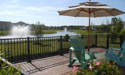 1 story 2BR/2BA Surrey Crest located on a gorgeous lagoon lot. Compare to builder cost to build with these options. Great value. Move in ready. Over $50K in options plus owner improvements.