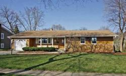 Spring delight! Pampered & updated step saver ranch on lovely private lot. Fine attention to detail-moldings, trim, doors, windows,& lighting. Updated kitchen-undermount sink, corian opens to FR. Gleaming new baths. Hdwd floors.Exterior hewn cedar