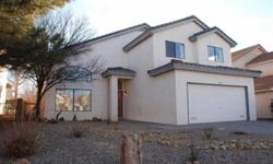It's all about Location...Wonderful Pressley home located in La Cueva/Desert Ridge/North Star school district, close to shopping and easy access to freeways. Move-in Ready 4/3/2, 1 Bed and bath downstairs. Ideal floorplan for a growing family. Updates