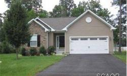 Must see, like new, great condition and well kept yard and house. Built 2007, open floor plan Hardwood throughout except bedrooms with carpet Upgraded cherry cabinets, 9 foot ceilings with cathedral in living room kitchen Large master bedroom with walk-in