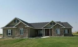Beautiful custom built country home. Secluded private location with great views. Features hard wood floors, open floor plan and gourmet kitchen. Over sized 2 car garage plus. Utility shed/shop with overhead door. Additional ground availableListing