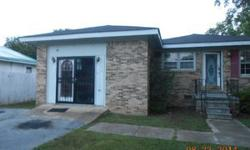 4 BR 2 BA brick ranch on .36 acre lot has great curb appeal Will need mostly cosmetics throughout & is offered at a great price Perfect for handyman, investor, landlord Cash offers only call 813 693 2458 for details/ viewing