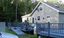 Newly built camp on 1.75 acreas of land 15 miles from Millinocket, Me. camp is 28' x 40'. Water is pumped from the lake. Has new bath with full tub/shower, septic system, propane hot water tank, propane cook stove, propane furnace, new Lopi wood stove,