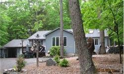 VACATION GET-A-WAY in this Year Round ranch style home w/Lakerights and BOAT SLIP on Lake Wallenpaupack. Available amenities 3 beds, two bathrooms, Cedar family room, garage for 1 car plus carport. Call for more information! Coldwell Banker Lakeview