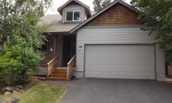 Fabulous location on the West side on the way to Mt. Bachelor, close to trails & town! Large lot that backs to common area. Great room plan with high vaulted ceiling, slate surround gas fireplace. Hardwood floors in the entry, hall, kitchen & dining room.