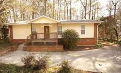 Recently Renovated 5/3 on Large,Fenced,Wooded Lot - Hardwoods in Almost All Rooms - Dual Masters with Attached Bath - New Roof 2011 - Covinent to Keswick Park & Perimeter Mall - Great access to I285 at 141 - Much Larger Than it Looks From the Street -